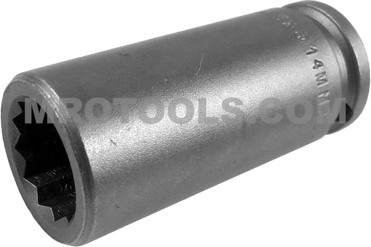 14mm23 d apex 14mm 12 point metric long socket 38 square drive sciox Choice Image