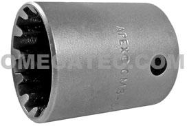 CMS-5430 Apex #30 Standard Spline Socket, 1/2'' Square Drive