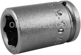 M-10MM11 Apex 10mm Magnetic Metric Standard Socket, 1/4'' Square Drive