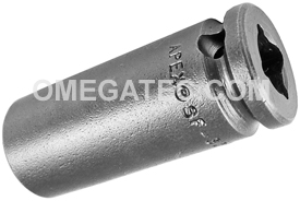 SF-3216 Apex 1/2'' Surface Drive Long Socket, 3/8'' Square Drive