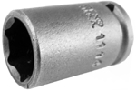 1114 Apex 7/16'' Standard Socket, 1/4'' Square Drive