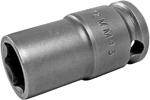 12MM43 Apex 12mm Metric Thin Wall Standard Socket, 3/8'' Square Drive