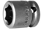13MM03 Apex 13mm Metric Short Socket, 3/8'' Square Drive