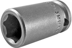13MM13 Apex 13mm Metric Standard Socket, 3/8'' Square Drive