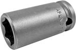 13MM43 Apex 13mm Metric Thin Wall Standard Socket, 3/8'' Square Drive