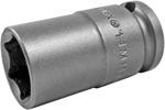14MM43 Apex 14mm Metric Thin Wall Standard Socket, 3/8'' Square Drive