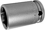 17MM43 Apex 17mm Metric Thin Wall Standard Socket, 3/8'' Square Drive