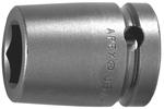 19MM15-D Apex 19mm 12-Point Metric Standard Socket, 1/2'' Square Drive