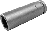 19MM35 Apex 19mm Metric Extra Long Socket, 1/2'' Square Drive