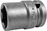 19MM45 Apex 19mm Thin Wall Metric Standard Socket, 1/2'' Square Drive