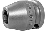 3010 Apex 5/16'' Short Socket, 3/8'' Square Drive