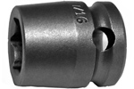 3014 Apex 7/16'' Short Socket, 3/8'' Square Drive