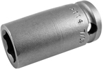 3114 Apex 7/16'' Standard Socket, 3/8'' Square Drive