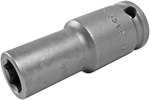 Apex 3/8 Square Drive Sockets, SAE, Thin Wall, Long Length