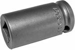 3612 Apex 3/8''  Single Square Nut Standard Socket, 3/8'' Square Drive