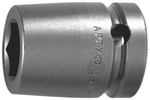 7142-D Apex 1 5/16'' 12-Point Standard Socket, 3/4'' Square Drive