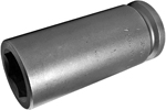 7336 Apex 1 1/8'' Extra Long Socket, 3/4'' Square Drive