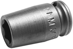 7MM11 Apex 7mm Metric Standard Socket, 1/4'' Square Drive