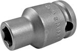 8MM43 Apex 8mm Metric Thin Wall Standard Socket, 3/8'' Square Drive