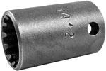CMS-1412 1/4'' Apex Brand Standard Spline Socket