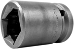 Apex 3/4 Square Drive Sockets, SAE, 6 Point And Double Hex, Standard Length