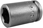M-10MM11 Apex 10mm Magnetic Metric Standard Socket, 1/4'' Square Drive