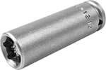 M-1212 Apex 3/8'' Magnetic Long Socket, 1/4'' Square Drive
