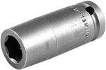 M-13MM25 1/2'' Long Metric Socket, Magnetic, Apex Brand