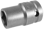 Apex 1/2'' Square Drive Sockets, Metric, Magnetic, Thin Wall, Standard Length, 6 Point and Double Hex