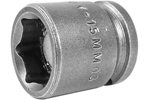 M-15MM03 Apex 15mm Magnetic Metric Short Socket, 3/8'' Square Drive