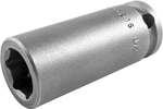 M-3216 Apex 1/2'' Magnetic Long Socket, 3/8'' Square Drive