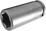 M-3218 Apex 9/16'' Magnetic Long Socket, 3/8'' Square Drive