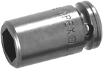 M-5.5MME1 Apex 5.5mm Magnetic Metric Standard Socket, For Sheet Metal Screw, 1/4'' Square Drive