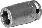 M-7MM11 Apex 7mm Magnetic Metric Standard Socket, 1/4'' Square Drive