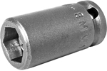 M-8MM11 Apex 8mm Magnetic Metric Standard Socket, 1/4'' Square Drive