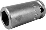 M-8MME1 Apex 8mm Magnetic Metric Standard Socket, For Sheet Metal Screw, 1/4'' Square Drive