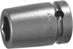 M5E14 Apex 7/16''Magnetic Socket, For Sheet Metal Screws, Predrilled Holes, 1/2'' Square Drive