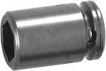 M5P12 Apex 3/8'' Magnetic Socket, For Sheet Metal Screws, Self-Tapping Screws, 1/2'' Square Drive