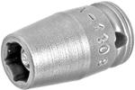 MX-1108 Apex 1/4'' X-Hard Magnetic Standard Socket, 1/4'' Square Drive