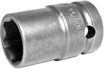 Apex 1/2'' Square Drive Sockets, Metric, Surface Drive, Thin Wall, Standard Length