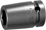 SF-17MM16 Apex 17mm Surface Drive Metric Standard Socket, 5/8'' Square Drive