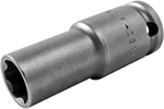 Apex 3/8'' Square Drive Sockets, SAE, Surface Drive And Fast Lead, Thin Wall, Long Length