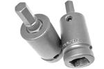 SZ-5-7-8MM 1/2'' Metric Socket Head Bit, Apex Brand