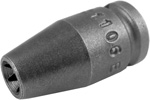 TX-1106 Apex E-6 Torx Socket, For External Screws, 1/4'' Square Drive