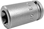 TX-1110 Apex E-10 Torx Socket, For External Screws, 1/4'' Square Drive