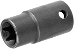 TX-1E06 Apex E-6 Torx Nut Socket, For External Screws, 1/4'' Square Drive